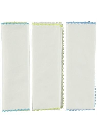 Mininio Minidamla 6 Lı Penye Mendil A11124 Beyaz